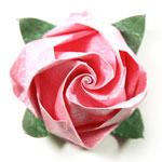 bow-tie rose base with flower image