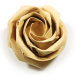 New Kawasaki paper rose flower