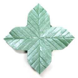 Quadruple Origami Leaf II