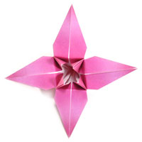 How To Make Origami Lily Flower