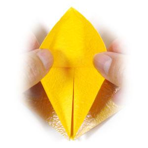 Easy Origami Daffodil Instructions