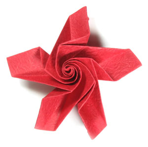 How to make a five petals lovely origami rose paper flower page 16 29th picture of five petals lovely origami rose paper flower mightylinksfo