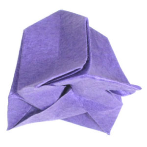 How to make origami bellflower simple origami bell flower mightylinksfo