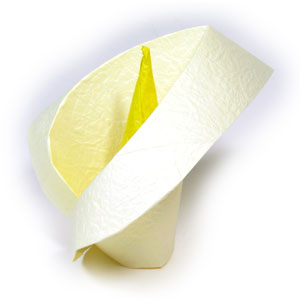 How To Make An Origami Calla Lily Page 1