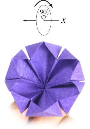 How To Make An Origami Crocus Flower Page 16
