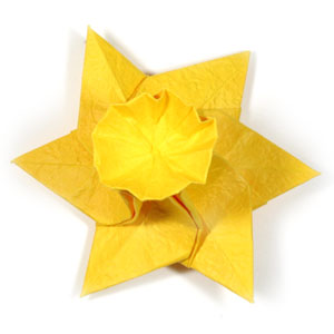 How to make an origami daffodil flower page 22 how to make an origami