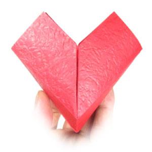 How to make origami flower heart flower mightylinksfo