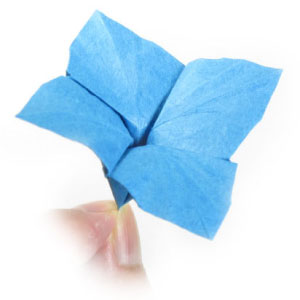 How To Make An Origami Hydrangea Flower Page 1