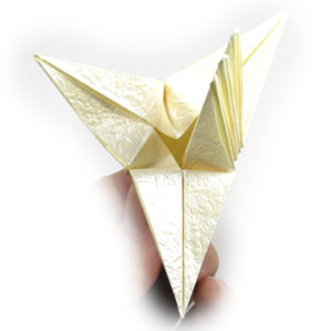 11th Picture Of Origami Lily With Six Petals