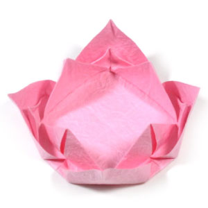 How to make origami lotus flowers easy lotus flower mightylinksfo