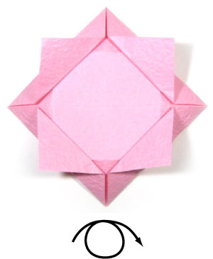 How to make an easy origami lotus flower page 6 10th picture of easy origami lotus flower mightylinksfo