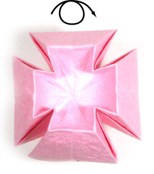 How to make a simple origami lotus flower page 7 11th picture of simple origami lotus flower mightylinksfo