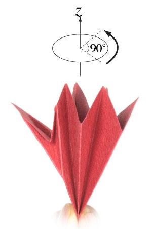 How To Make An Origami Poinsettia Flower Page 8