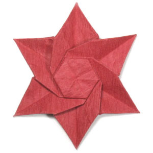 How To Make An Origami Poinsettia Flower Page 24