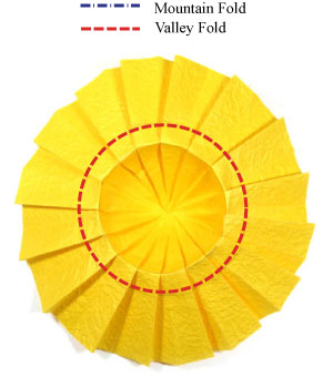 Sunflower Paper Craft : How To Make a Paper Sunflower Origami ... | 340x300
