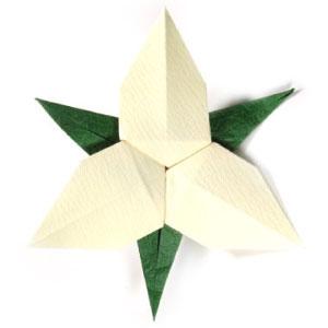 How to make origami flower origami trillium mightylinksfo Gallery
