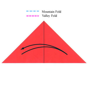 Origami Valley Fold Youtube
