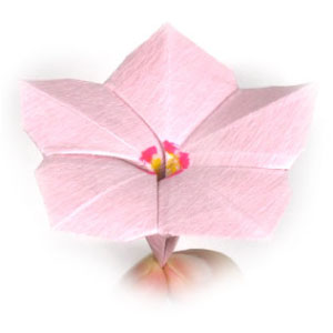 How To Make An Origami Vinca Flower Page 1