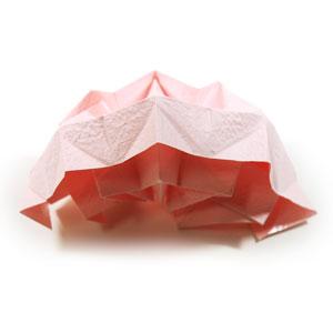 Kawasaki Rose Leaf Origami