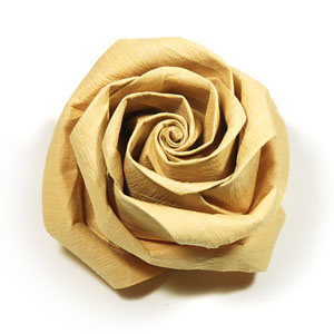 Twisty Rose Origami — Arts, Crafts & More by Kitty Moore | Origami ... | 300x300