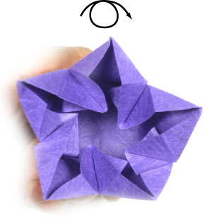 How to make an origami bellflower page 20 37th picture of origami bellflower mightylinksfo