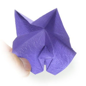 Origami Lily With Stem