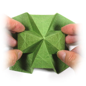 How to Make an Origami Shamrock –It's a dish too! | 300x300