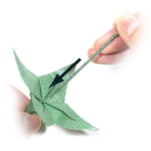 How to make an origami wire stem page 3 4th picture of origami wire stem mightylinksfo